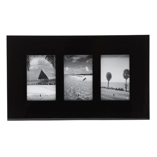 Triple Gloss Frame (4X6) - Black