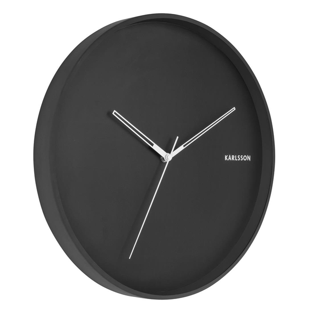 Karlsson Hue Clock - black