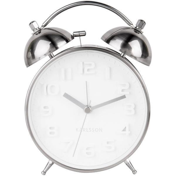 Karlsson Mr Alarm - whitesilver