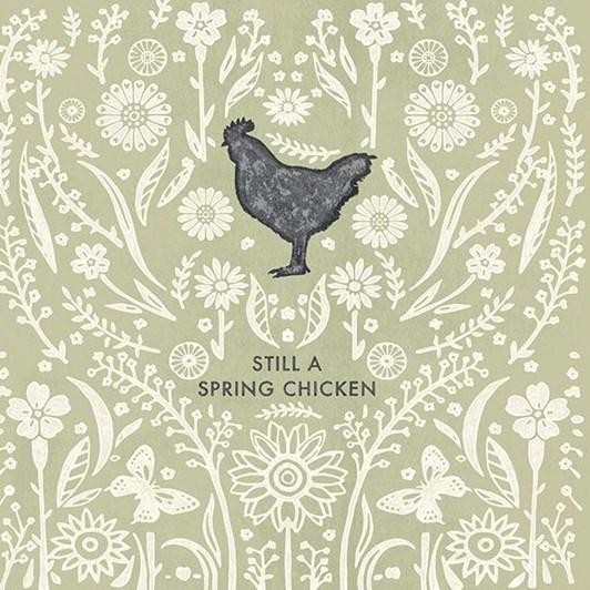 Vevoke Card Spring Chicken
