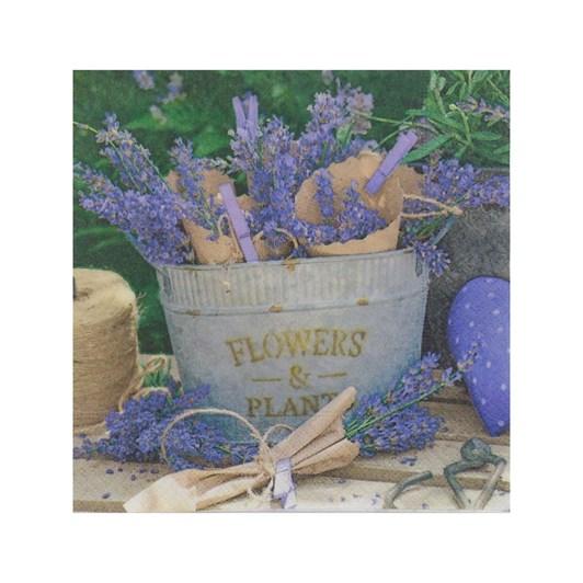 Lavender Decoration Luncheon Napkin