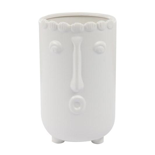 Large Face Vase
