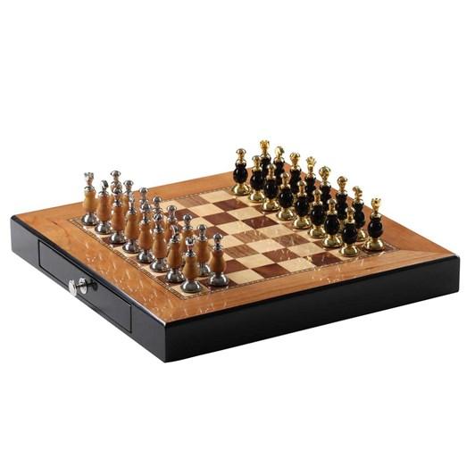 Premium Chess Set - Brown