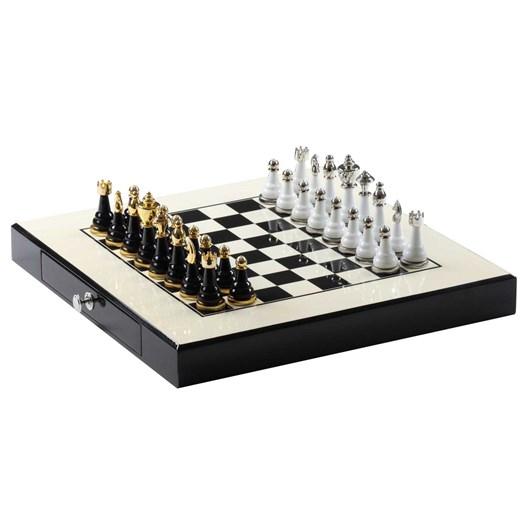 Premium Chess Set - White/Black