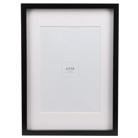 Citta Edge Frame Black A4 32.4x44.4cmh