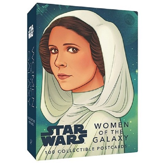 Star Wars- Women Of The Galaxy 100 Collectable Postcards