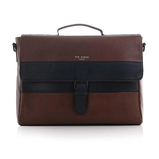 Ted Baker Striped Leather Satchel