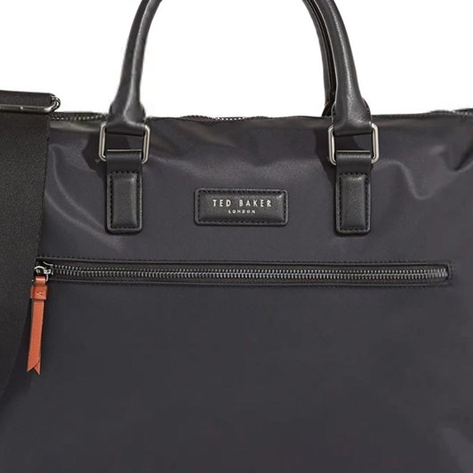 Ted Baker Satin Nylon Document Bag
