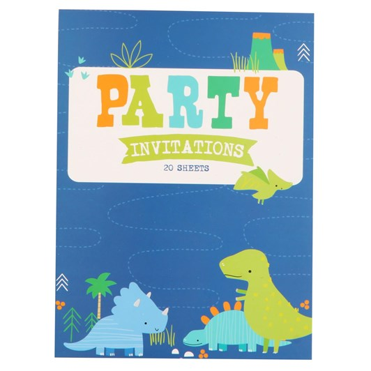 Dino Padded Invitation