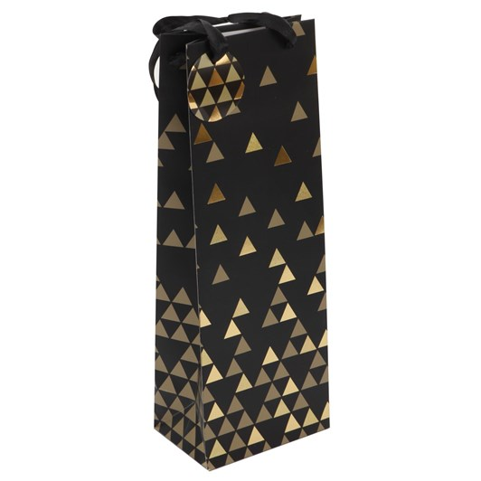 Premium Triangles Bottle Bag