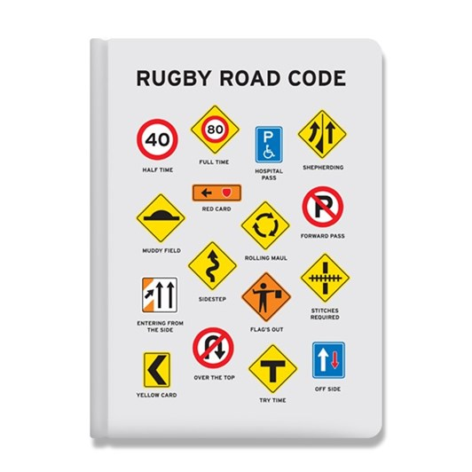 Just Great Design Rugby Road Code Journal