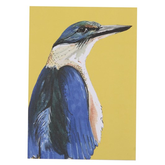 Mills And Plume Kingly Kingfisher Card