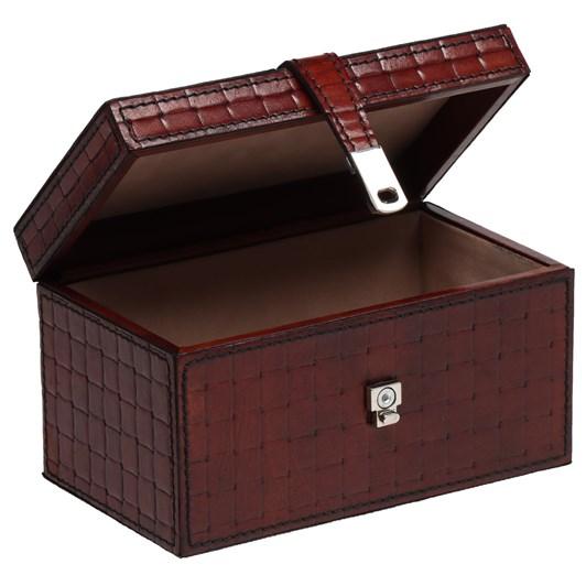 Leather Printed Box 18X10.5X10.5
