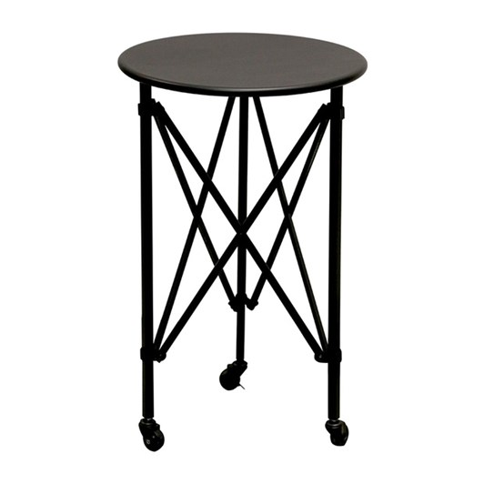 CC Interiors Salon Occasional Table In Vintage Black