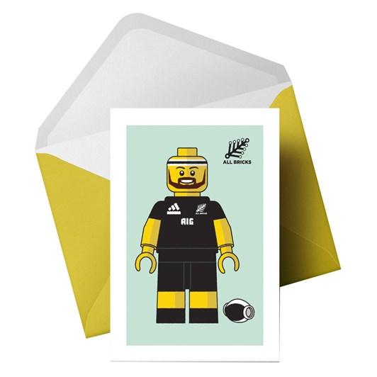 Little Paper Hugs All Bricks Card