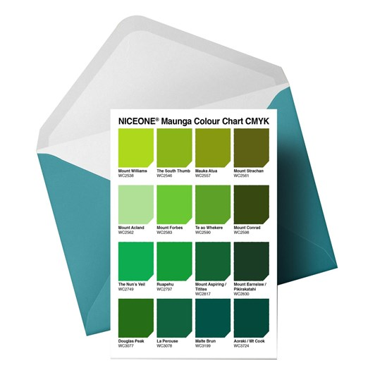Little Paper Hugs The Colours Of Maunga-Colour Chart Card