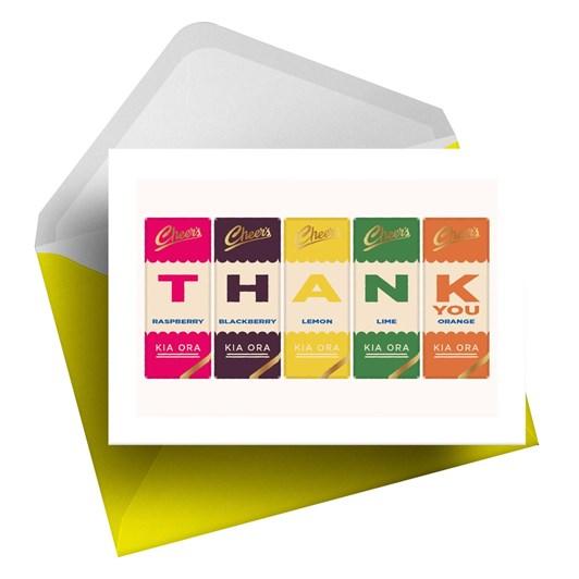 Little Paper Hugs Thank You K Bar Card