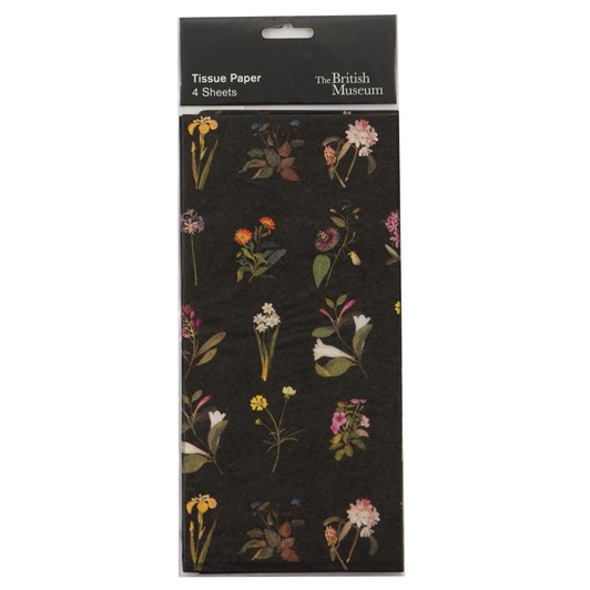 Museums & Galleries Delany Flowers Tissue Paper
