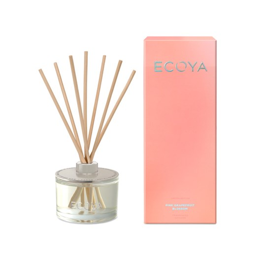 Ecoya Limited Edition Reed Diffuser - Pink Grapefruit & Blossom