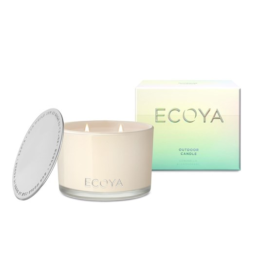 Ecoya Dylan Jar Outdoor Candle - Citronella & Lemongrass