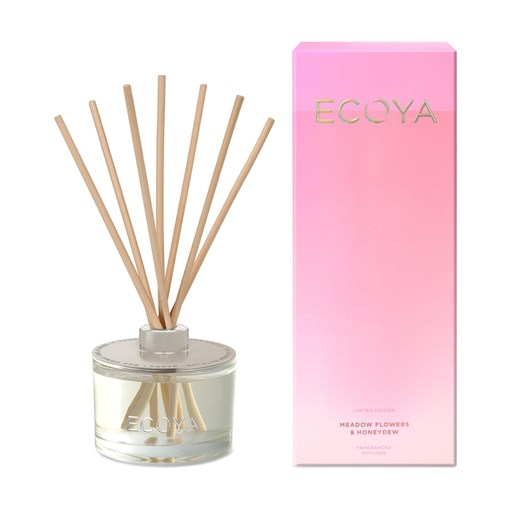 Ecoya Limited Edition Reed Diffuser- Meadow Flowers & Honeydew