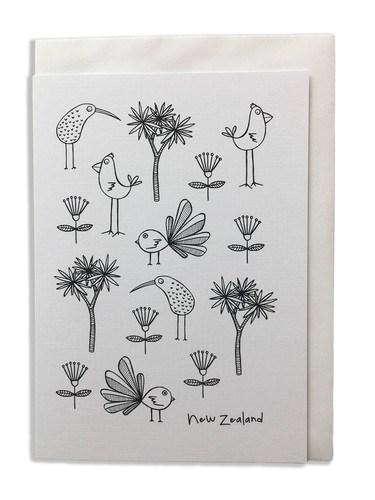 Karen Design Birds Card