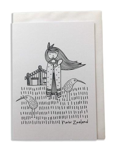 Karen Design Girl Card