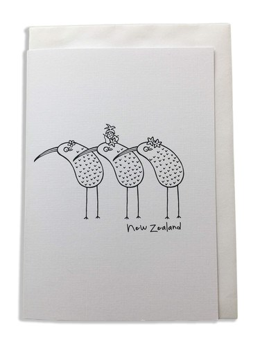 Karen Design Kiwis Card