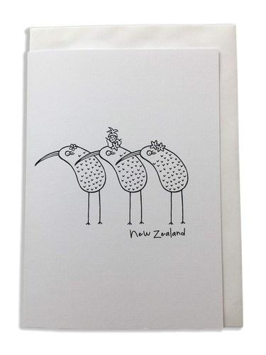 Karen Design Kiwis Card