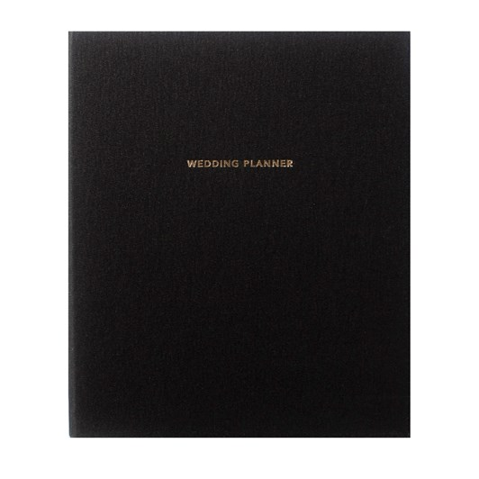 An Organised Life X Together Journal Wedding Planner - Black