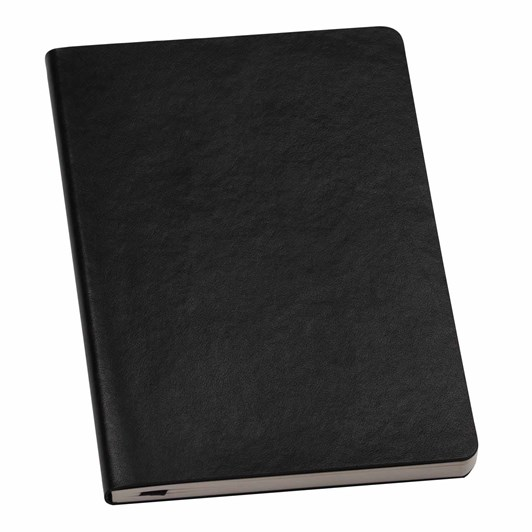 An Organised Life Plain Leather Notebook