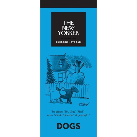 New Yorker Dogs Notepad