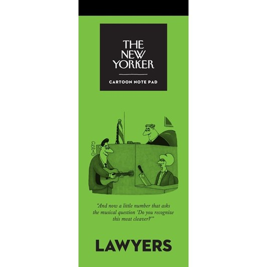 New Yorker Lawyers Notepad