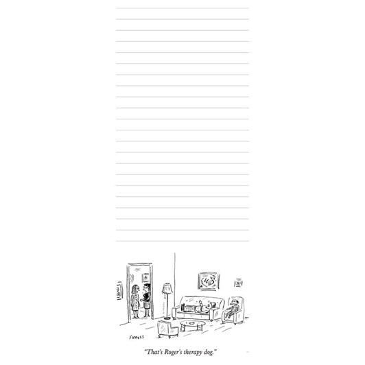 New Yorker Therapy Notepad