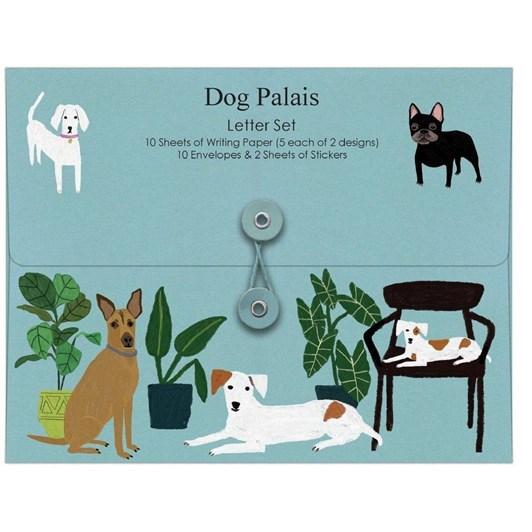 Roger La Borde Dog Palais Writing Set With Stickers