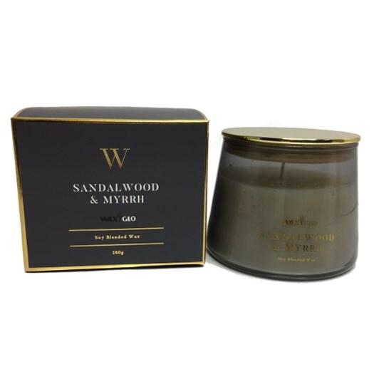 Waxglo W Scented Jar 260g Sandalwood & Myrrh