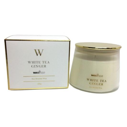 Waxglo W Scented Jar 260g White Tea Ginger