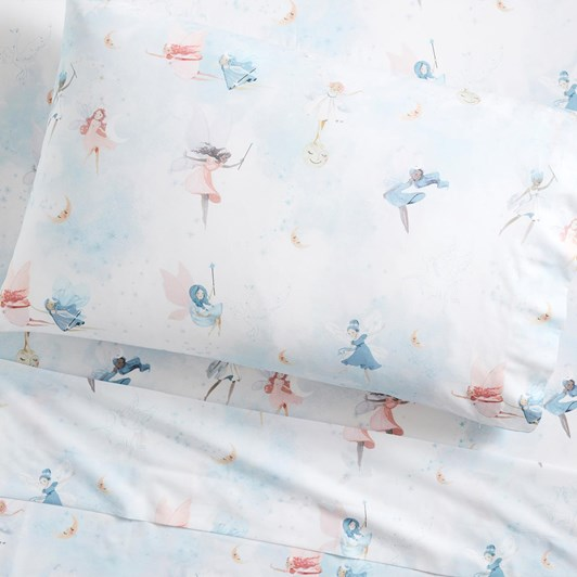 Pottery Barn Kids Organic Celeste Fairy Sheet Set