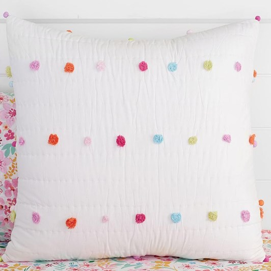 Pottery Barn Kids Bright Pom Pom Quilt Range