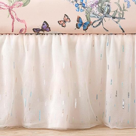 Pottery Barn Kids Ml Starburst Crib Skirt