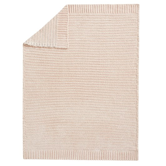 Pottery Barn Kids Chenille Metallic Baby Blanket