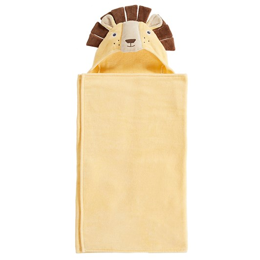 Pottery Barn Kids Lion Bath Wrap