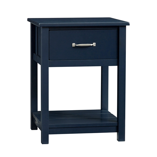 Pottery Barn Kids Camp Nightstand Navy Wb - navy