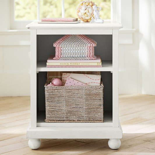 Pottery Barn Kids Catalina Nightstand Simply White Wb