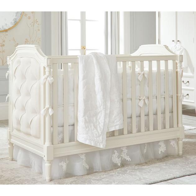 Pottery Barn Kids Blythe Crib French White Wb - french white