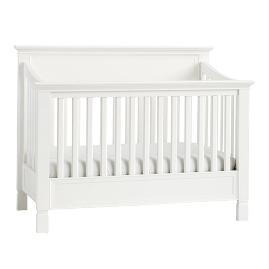 Pottery Barn Kids Larkin Convertible Cot Simply White Wb