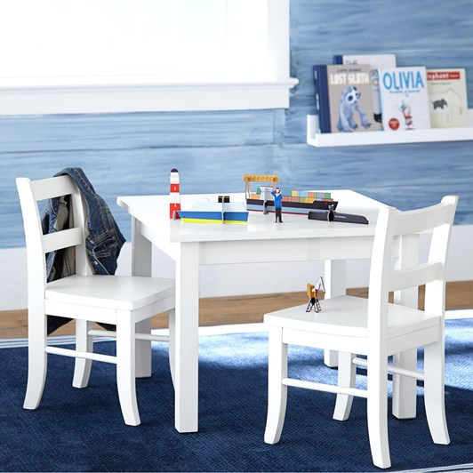 Pottery Barn Kids My First Play Table Simply White Wb