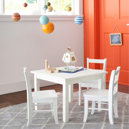 Pottery Barn Kids My First Chair Simply White Wb