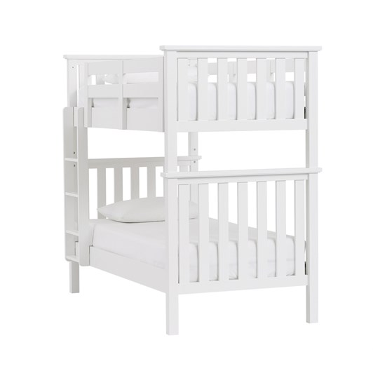 Pottery Barn Kids Elliott T/T Bunk Bed Simply White