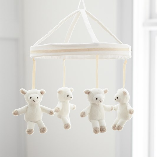 Pottery Barn Kids Harper Lamb Plush Mobile